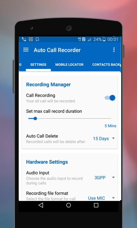 Auto Call Recorder PRO 1 6 APK Download by Utility Top Apps