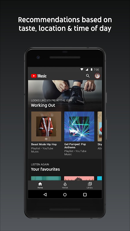 YouTube Music - Stream Songs & Music Videos 3.37.55 Screen 12