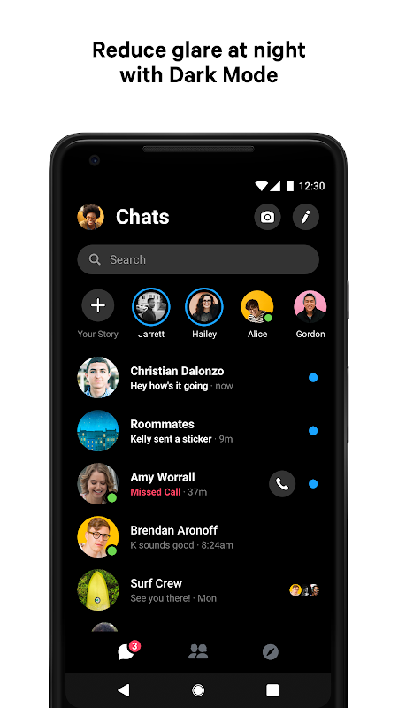 Messenger – Text and Video Chat for Free 233.0.0.3.158 Screen 7