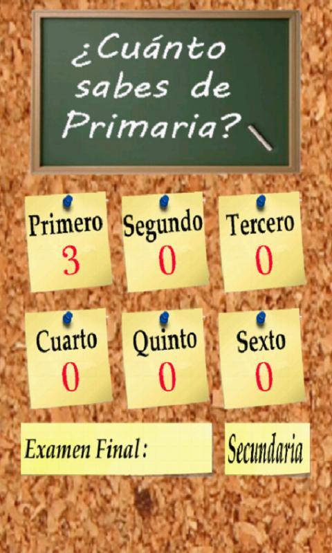 Android Primaria Screen 2