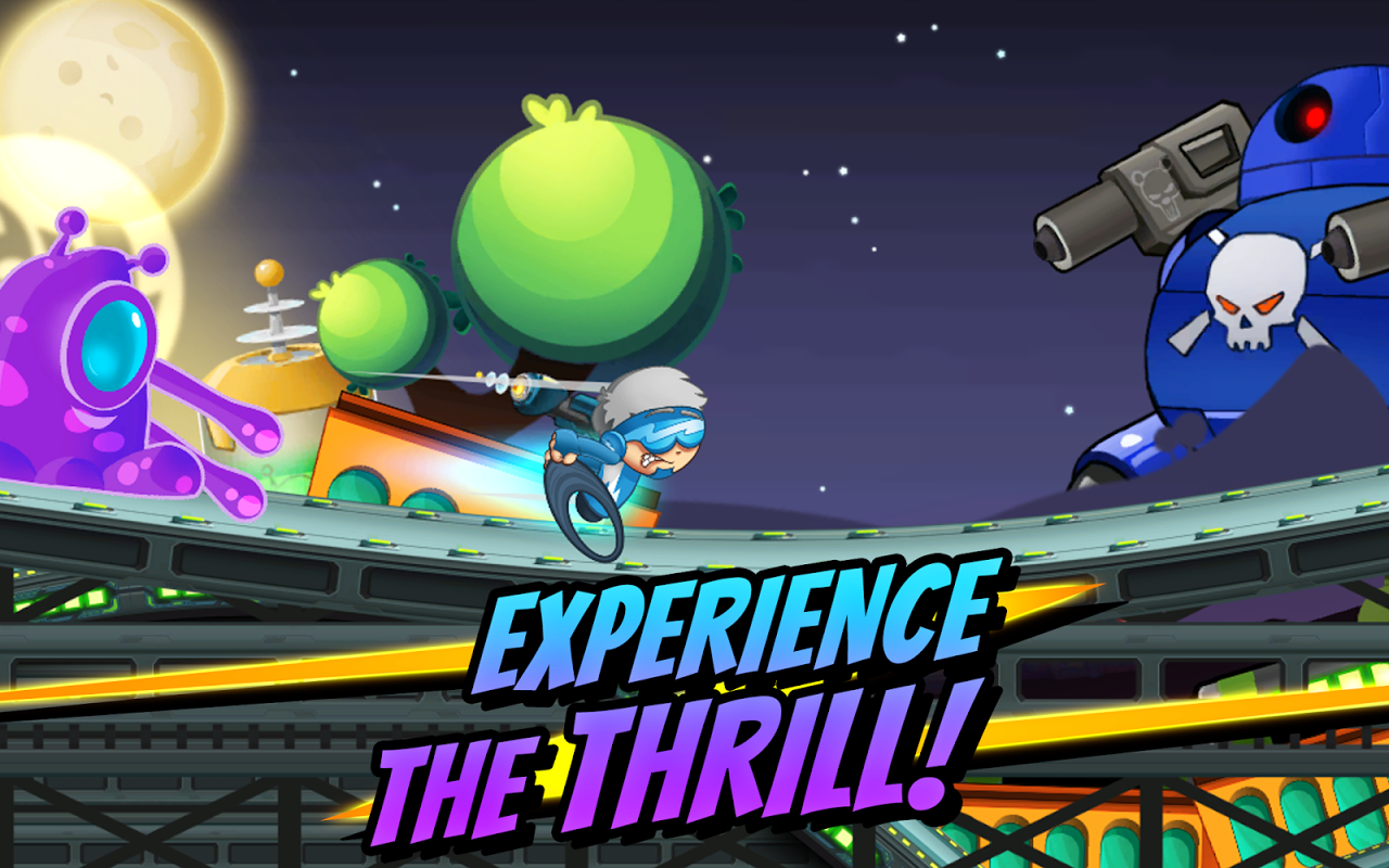 Android Superheroes Car Racing Screen 3