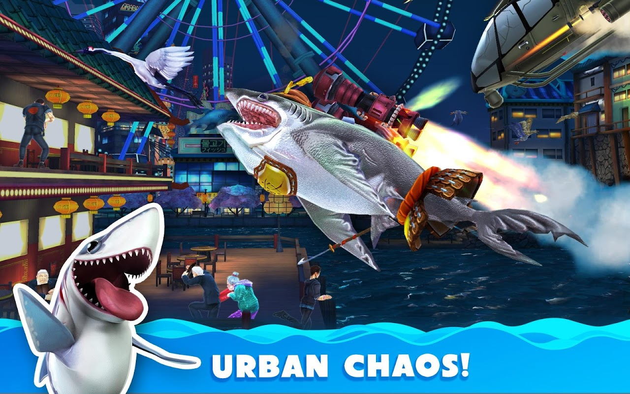Android Hungry Shark World Screen 23
