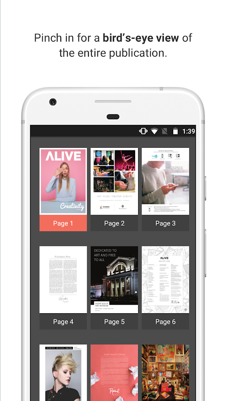 issuu - Read Magazines, Catalogs, Newspapers. 5.18.0 Screen 3