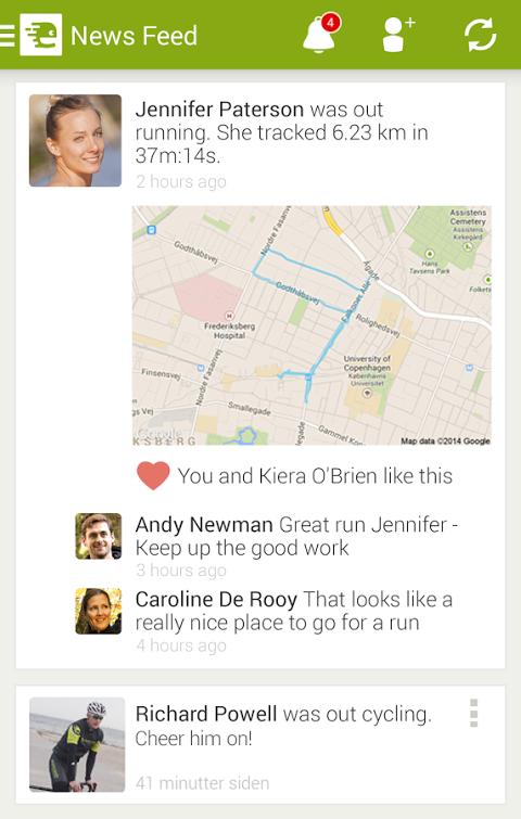 Android Endomondo Sports Tracker PRO Screen 18