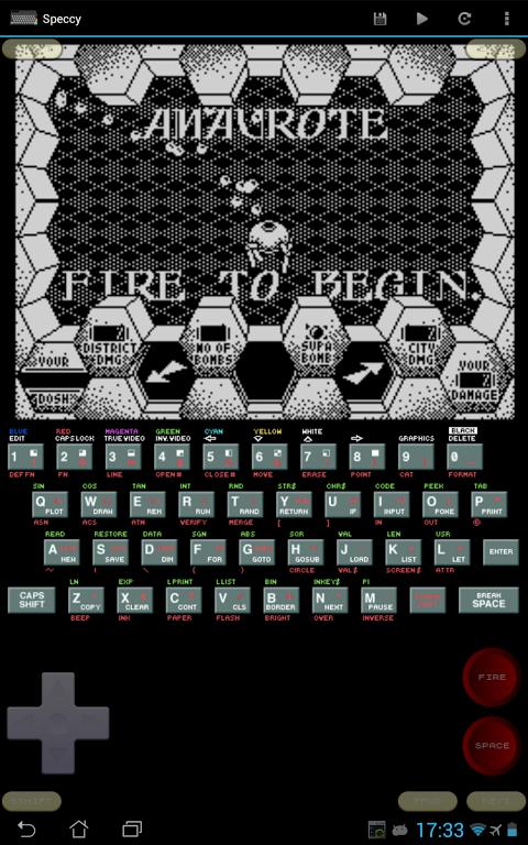Speccy - ZX Spectrum Emulator 3.3.3 Screen 21
