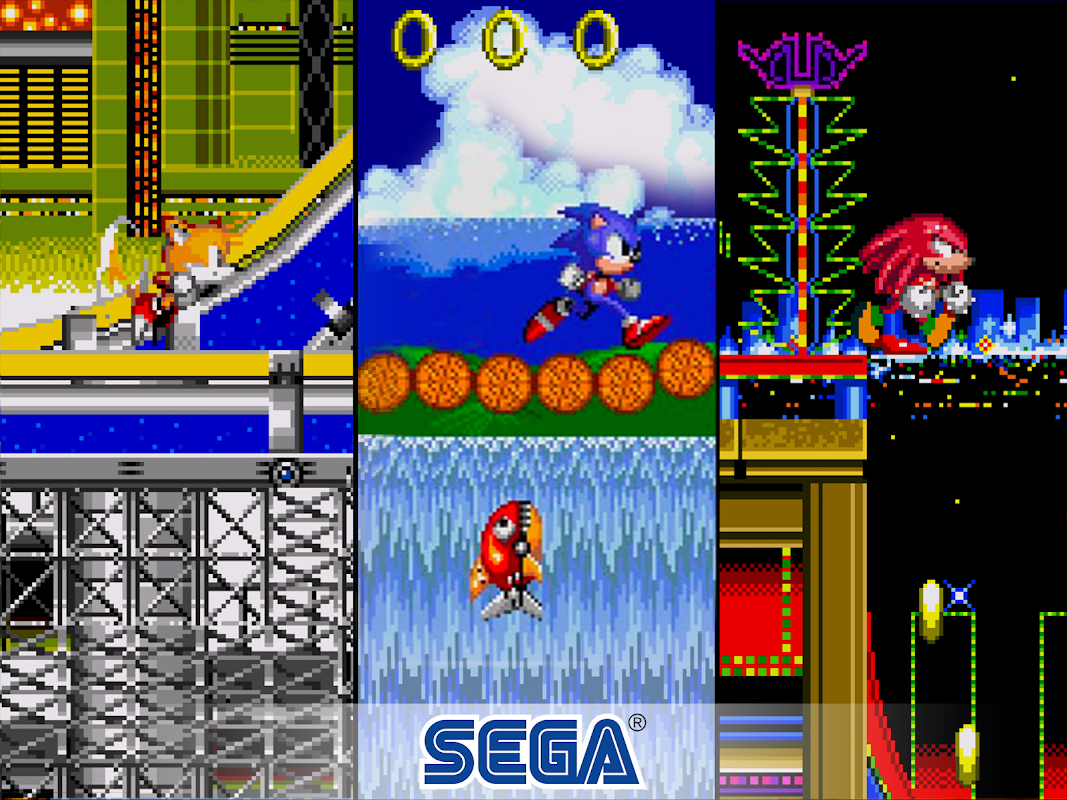 Android Sonic The Hedgehog 2 Classic Screen 4
