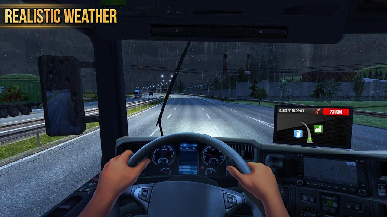 Android Truck Simulator 2018 : Europe Screen 5