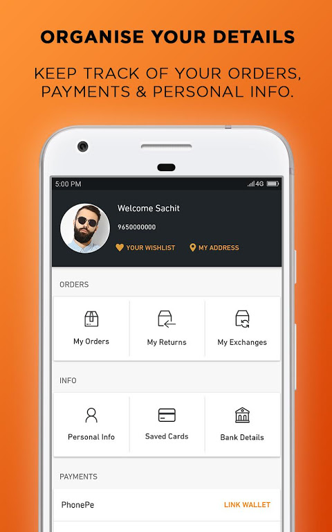 Android Jabong Online Shopping App Screen 4