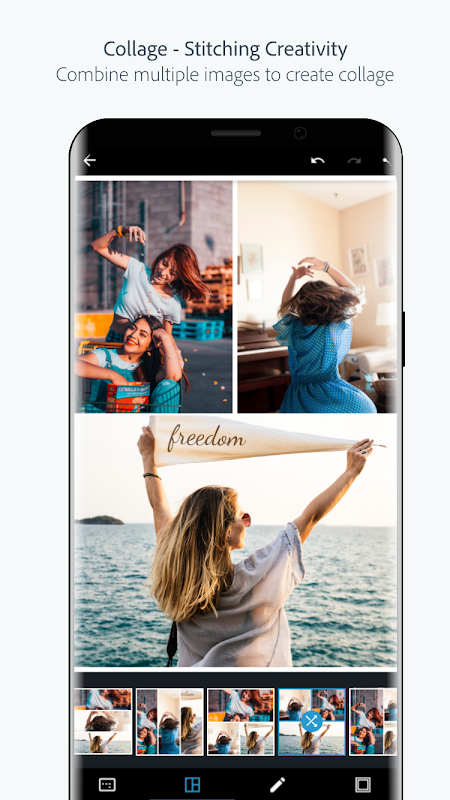 Adobe Photoshop Express:Photo Editor Collage Maker 5.8.561 Screen 5