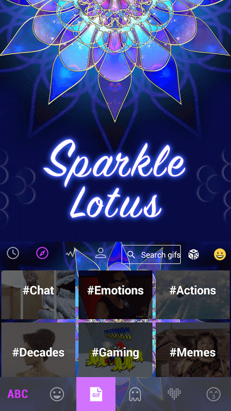 sparklelotus 2.0 Screen 5
