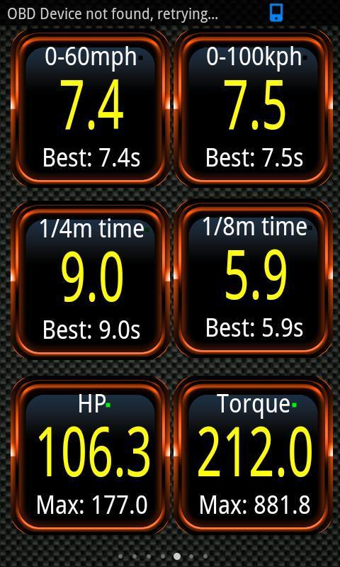 Android Torque Pro (OBD 2 & Car) Screen 4