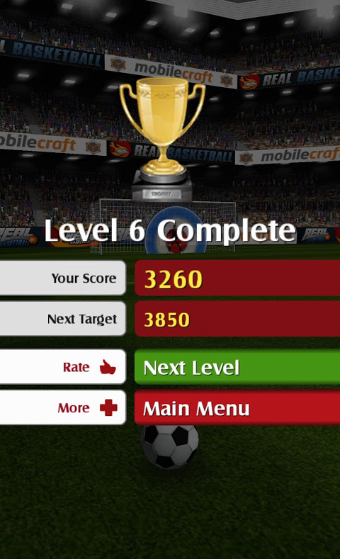 Android Flick Shoot (Soccer Football) Screen 4