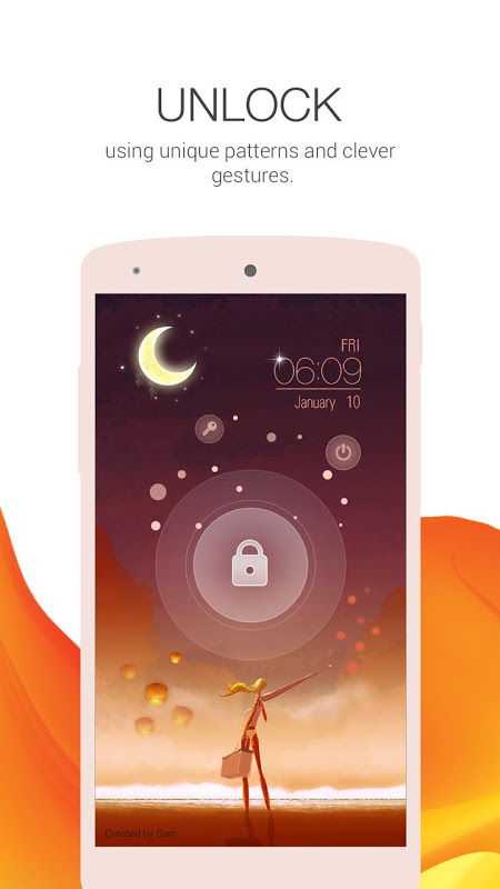 Android Locker Master- Fun, DIY Themes Screen 2