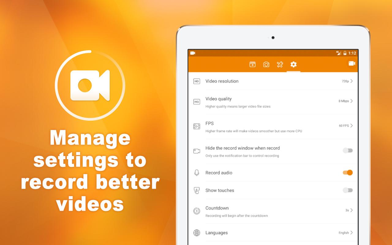 DU Recorder � Screen Recorder & Video Editor 1.7.5.2 Screen 4