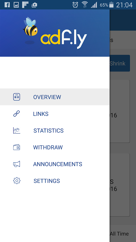 AdFly - Paid URL Shortener 2.0.0 Screen 4