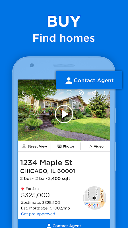 Android Zillow: Find Houses for Sale & Apartments for Rent Screen 13