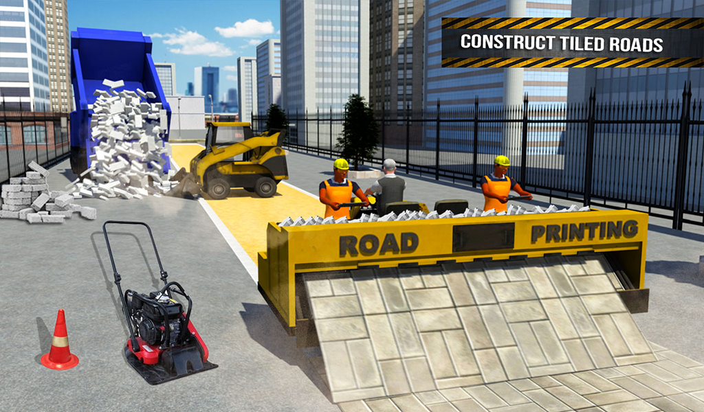 Pothole Repair Heavy Duty Truck: Road Construction 1.3 Screen 12