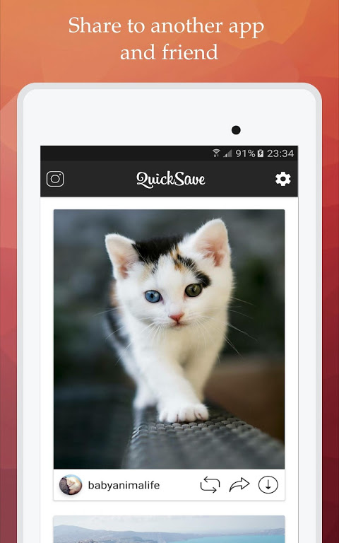 QuickSave for Instagram 2.2.9 Screen 9