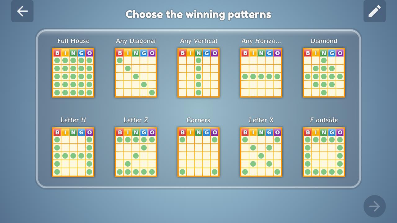 Bingo Set 1.3.0 Screen 1