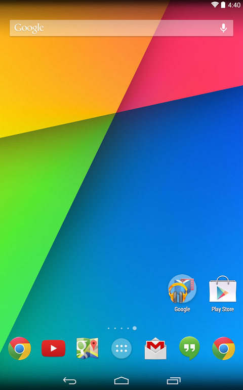 Google Now Launcher 1.4.large Screen 7