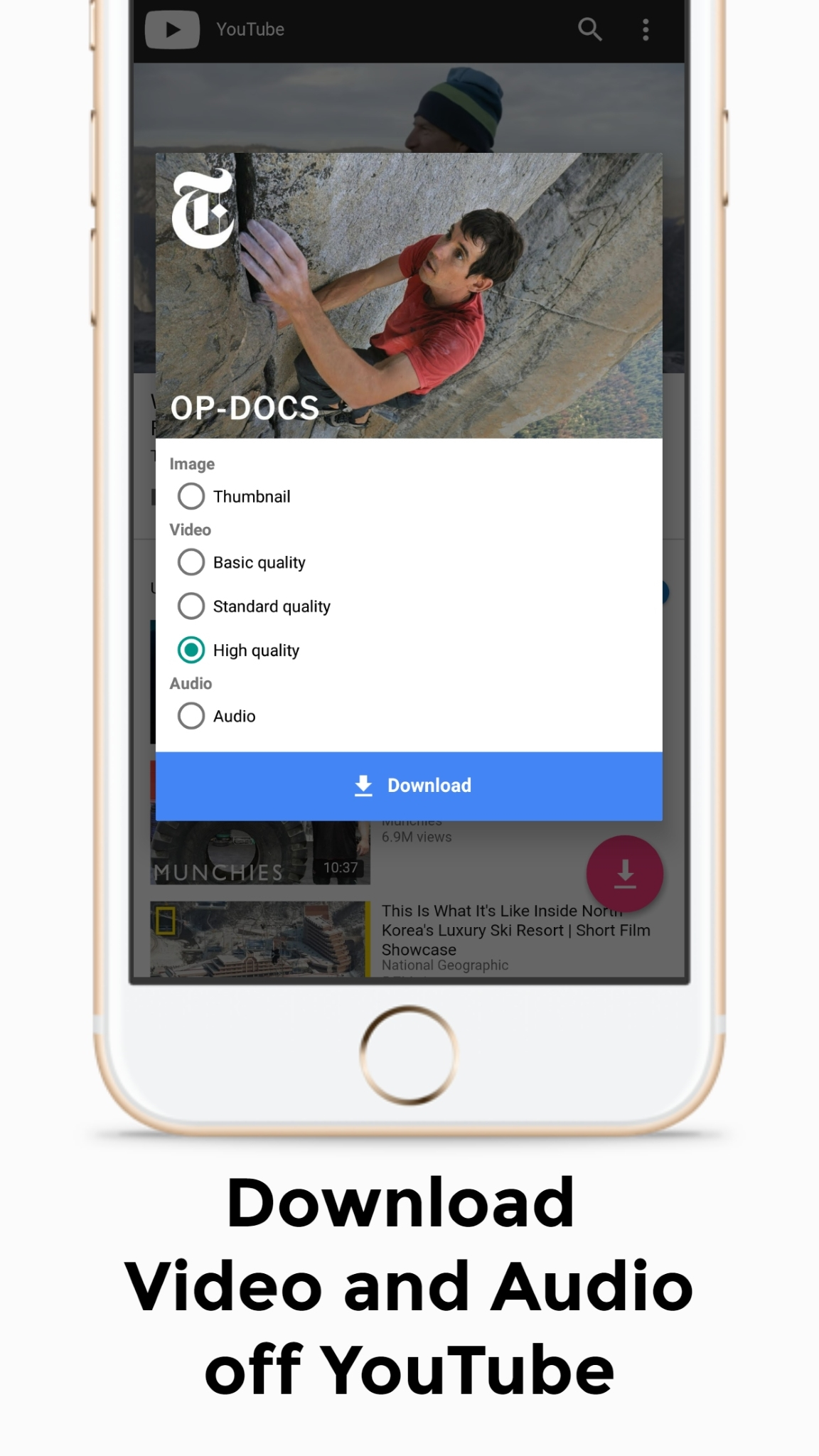 Android Youtube Video Downloader - LXYoutube Screen 1