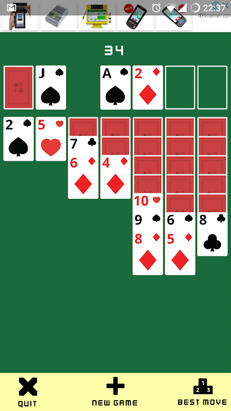 Android Solitaire Klondike: Play Solitaire Card Game Free Screen 1