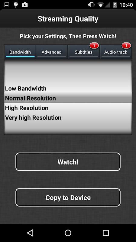 VLC Streamer Free 2.42 (3156) Screen 9