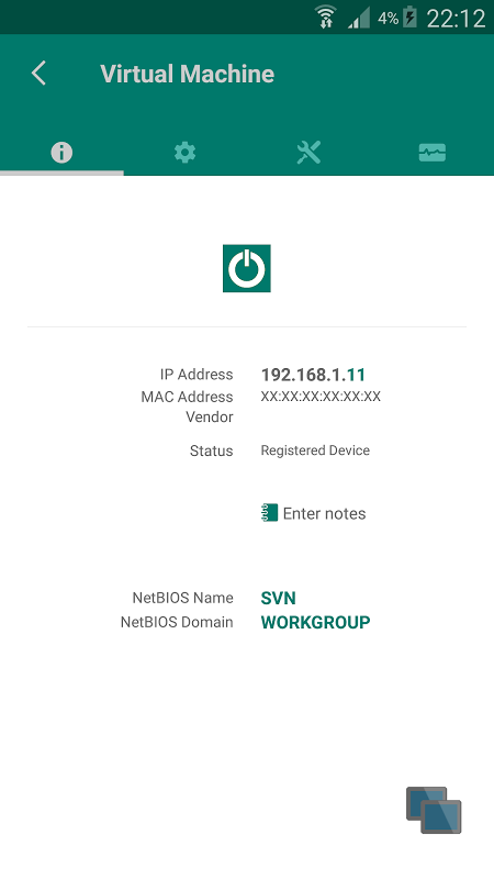 NetX - Network Discovery Tools 3.8.1.0 Screen 1