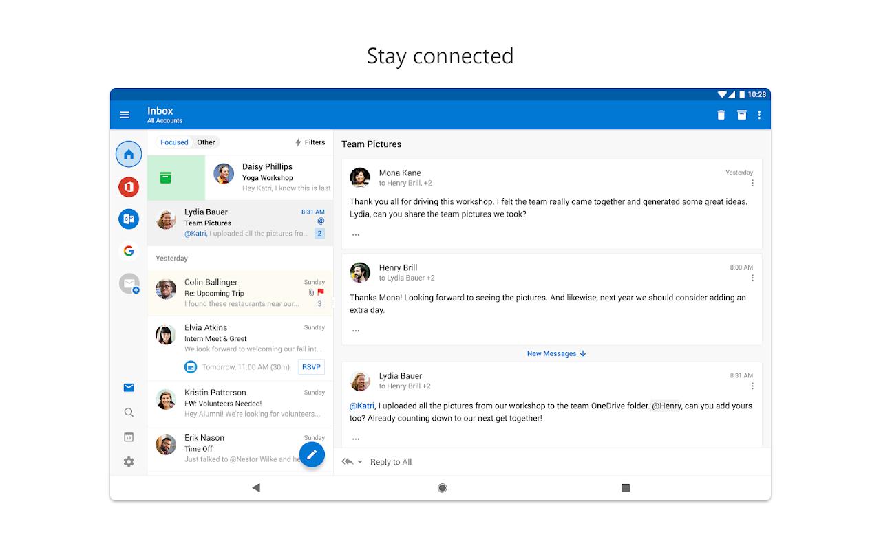 Microsoft Outlook 3.0.128 Screen 6