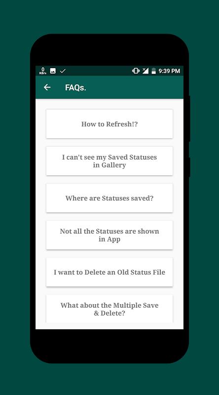 Status Saver 2.24 (Beta) Screen 6