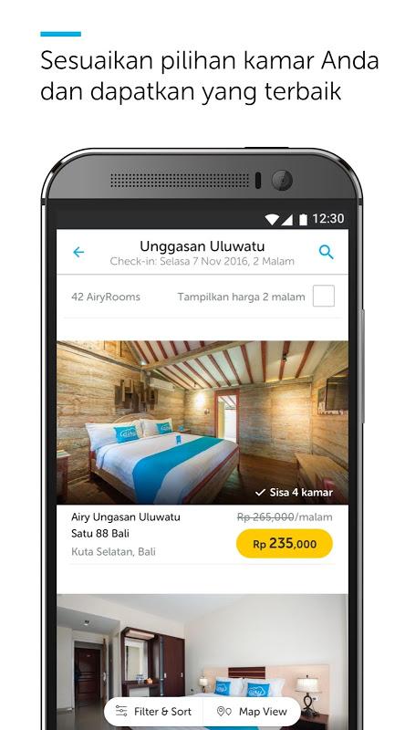 Android Airy Rooms - Kamar Hotel Murah Screen 5