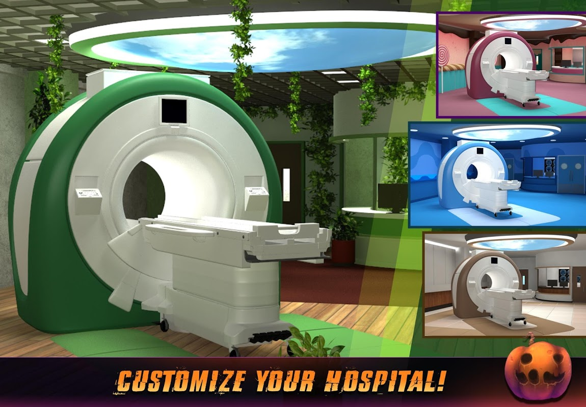 Operate Now: Hospital 1.23.3 Screen 1