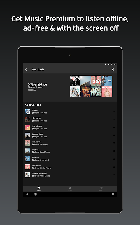 YouTube Music - Stream Songs & Music Videos 3.37.55 Screen 14