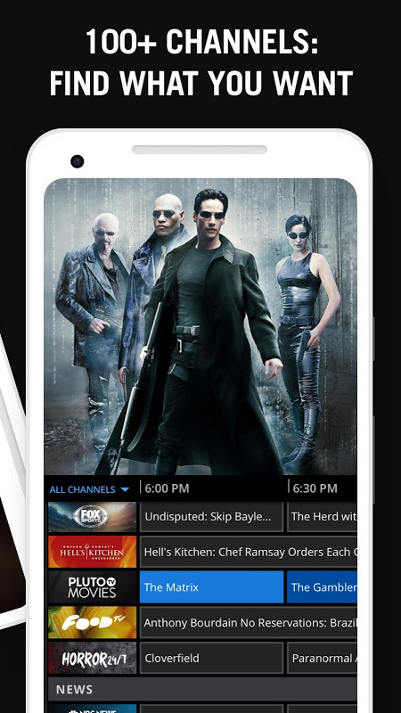 Android Pluto TV - It's Free TV Screen 2