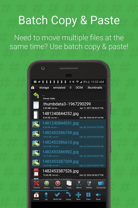 Android Root Browser (File Manager) Screen 2