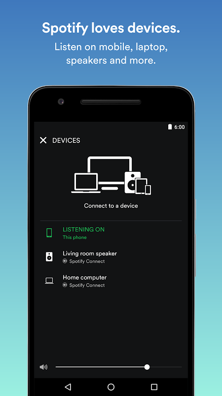 Android Spotify Music Screen 4