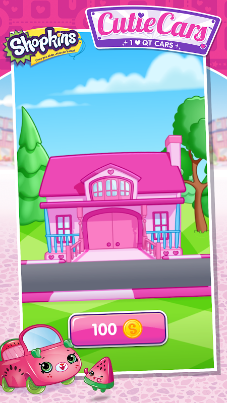 Android Shopkins: Cutie Cars Screen 2