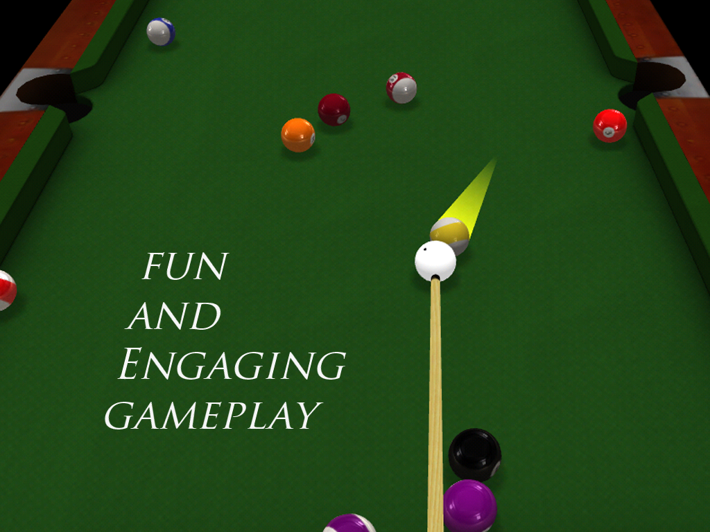 Android Pool 3D : 8 Ball Screen 2