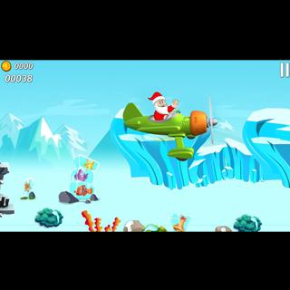 Android Flying Santa Claus Screen 3