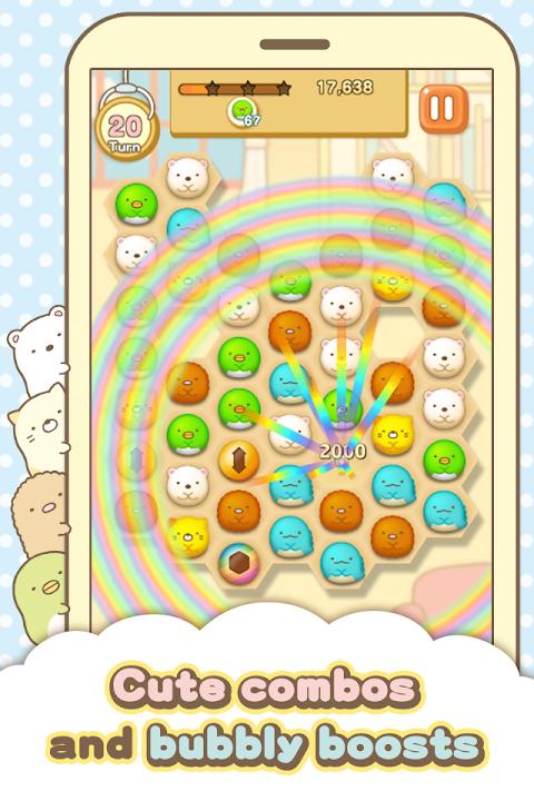 Android Sumikko gurashi-Puzzling Ways Screen 4