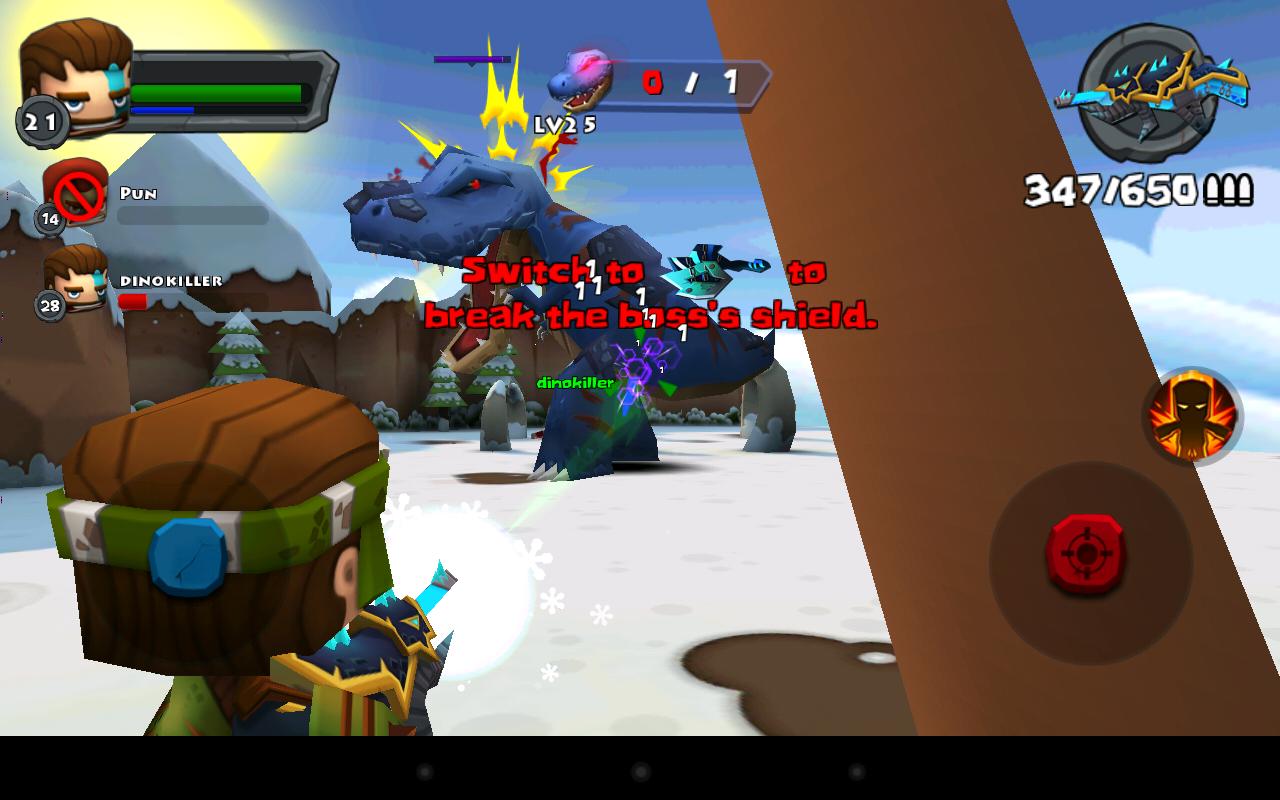 Android Call of Mini™ Dino Hunter Screen 10