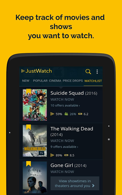 JustWatch - Search Engine for Streaming and Cinema 0.24.58 Screen 13