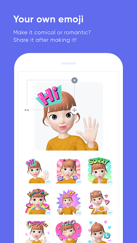 Android ZEPETO Screen 3