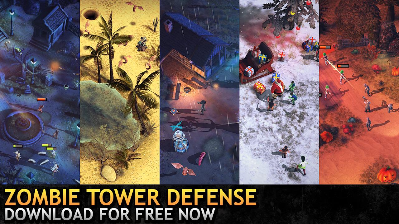 Last Hope TD - Zombie Tower Defense Games Offline 3.53 Screen 5