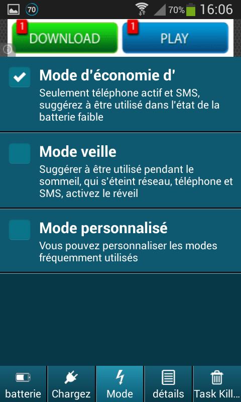 Battery Saver Pro 1.0 Screen 8