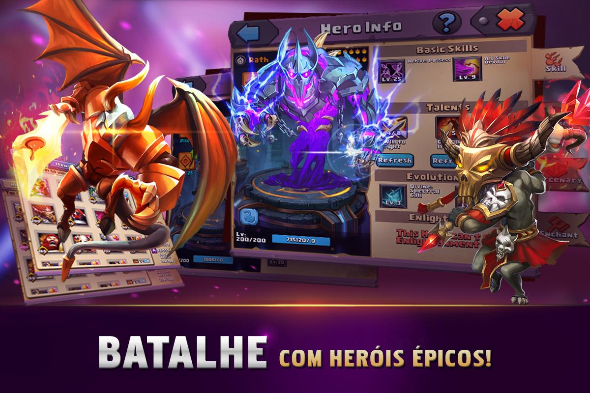 Android Clash of Lords 2: A Batalha Screen 1