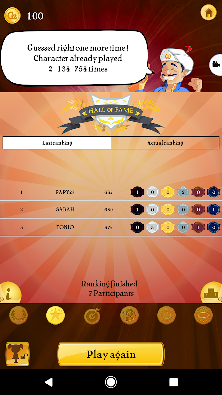 Akinator the Genie 6.6.5 Screen 6