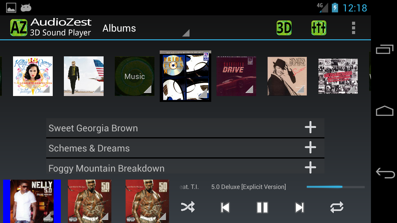AudioZest 3D Music Player APKs | Android APK