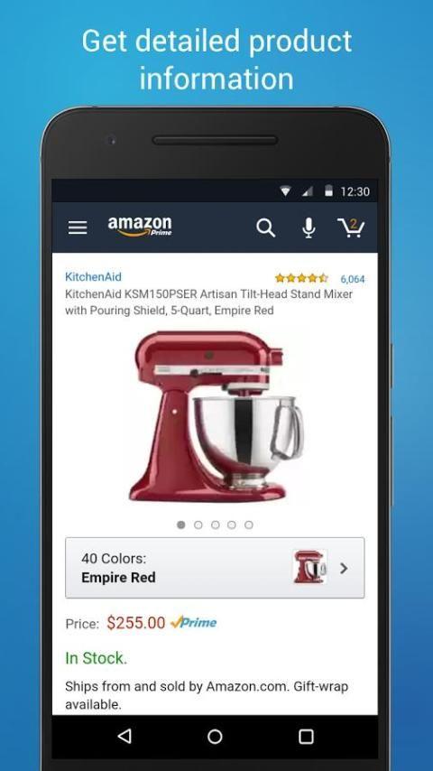 Amazon Shopping 12.9.0.100 Screen 3