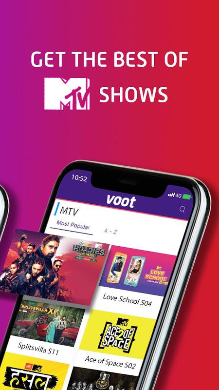 Voot - Watch Free - Colors, MTV Shows & Live News 2 1 77 APK
